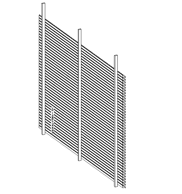 Plant Louvre without Folded Fascia