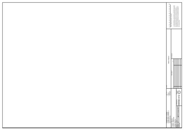 Title Block - A1 Sheet Vertical