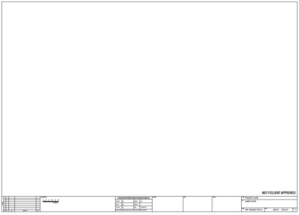 B1 Sheet Horizontal Border